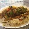 سمك وربيان مقلي (tabke_) Tags: مطبخ طبخات طبخ غداء اطباق عشاء اكلات وصفات طبخي