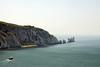 The Needles, Isle of Wight (**Anik Messier**) Tags: uk summer england lighthouse holiday coast chalk rocks europe landmark isleofwight whitecliffs englishchannel theneedles alumbay whiterocks culverdown coastuk needlesrocks welcomeuk