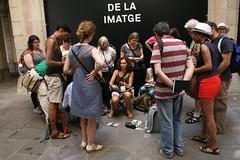 Urban Life workshops, with Ea Ejersbo and Marina Grechanik (Vanadisa) Tags: barcelona spain sketching workshop teaching usk symposium 2013 urbansketchers