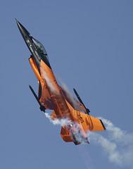The Royal Netherlands Air Force F-16 Demo Team (#Matt Hancock#) Tags: the royal netherlands air force f16 demo team flown by captain stefan stitch hutten taken riat 2013 sunday