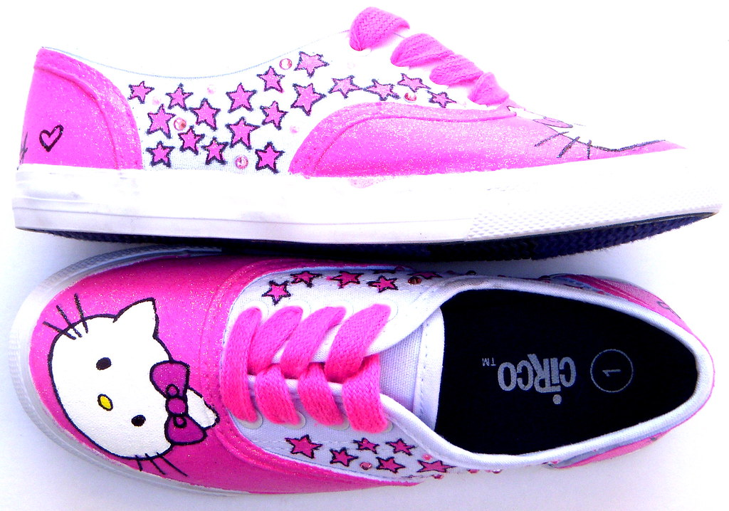 016a6667533 Hello Kitty Shoes www.fruitfulfeet.com (fruitfulfeet) Tags  ariel fashion  shoes