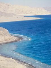 Sinai coast with coral reef (jasbond007) Tags: travel coral pentax egypt reef mx sinai gulfofaquaba gulfofeilat nigeldawson jasbond007 smcpentaxm80200mmf45 copyrightnigeldawson1985