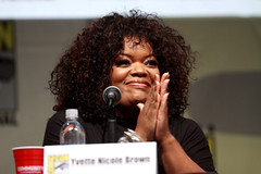 Yvette Nicole Brown (Gage Skidmore) Tags: california brown dan nicole community san comic ken diego jim center international convention danny jacobs gillian yvette brie alison con rash harmon mckenna chri jeong pudi 2013