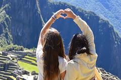 MachuPicchu (mariellacortez70) Tags: friends mountain canada peru girl cuzco funny friendship heart cusco adventure journey machupicchu hermanas 2013 uploaded:by=flickrmobile flickriosapp:filter=nofilter
