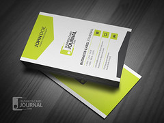 Corporate Style Vertical Business Card Template (Meng Loong) Tags: white black green vertical modern corporate creative free clean businesscards download psd template ai namecard visitingcard callcard businesscarddesign businesscardtemplate