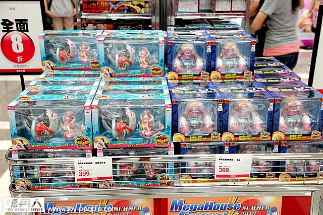 【玩具探險隊】MegaHouse Festival Summer 2013 夏日特展 現場報導