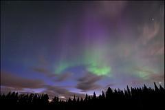Aurora borealis, Solberget (J. Oetinger) Tags: nikon sweden schweden sverige auroraborealis nationalgeographic norrsken polarlicht oetinger norrbotten solberget nikond3