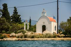The little church (Melissa Maples) Tags: sea summer church water nikon europe mediterranean chapel greece nikkor vr afs mandraki meis  kastellorizo megisti dodecanese 18200mm f3556g   18200mmf3556g kastelorizo    d5100
