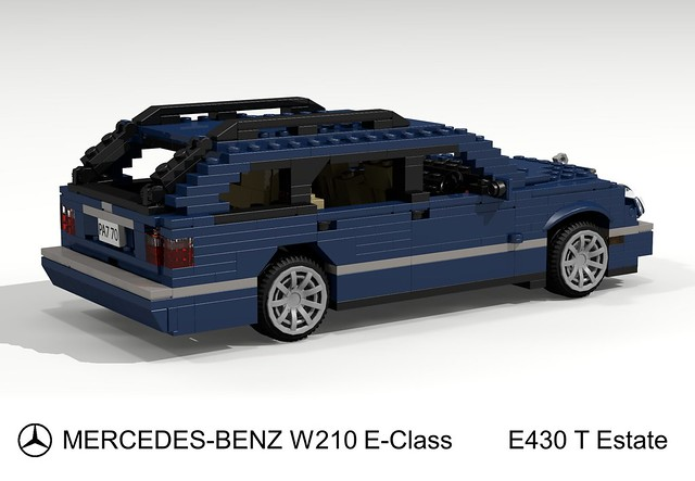 auto car wagon mercedes benz model estate lego render e mercedesbenz 70 mb challenge cad lugnuts povray moc ldd eclass miniland eklasse w120 e430 lego911 e430t redoandredemption