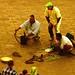 Marokko , Marrakesch , Schlangenbeschwörer auf dem Djemaa el Fna - dem Henkersplatz, 10-24/2508