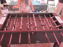 "Jeff's foosball table • <a style=""font-size:0.8em;"" href=""http://www.flickr.com/photos/61091961@N06/9660246322/"" target=""_blank"">View on Flickr</a>"