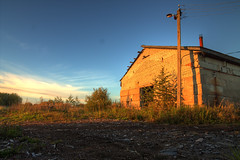 (Noatime) Tags: barn rural evening decay vanishing