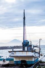 Mt Fuji and a waiting boat (rokclmb) Tags: japan kitlens kanagawa ef50mmf18ii yokosuka eriksen efs1855mmf3556is rokclmb jessederiksen jessederiksen