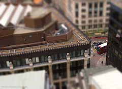 Miniture world (Stephen Champness) Tags: street bus london nikon little miniture tiltshift nikond3200