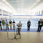 """<b>Aquatic Center Dedication of Service_100413_0054</b><br/> Photo by Zachary S. Stottler Luther College '15  <a href=""""http://farm3.static.flickr.com/2887/10095620185_bb5efabd41_o.jpg"""" title=""""High res"""">∝</a>"""