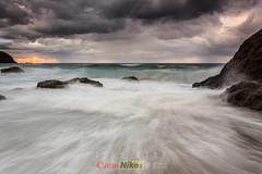 El bautizo (saki_axat) Tags: sea seascape landscape waves shoreline coastal bakio pearojas askada