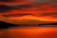 Beautiful morning in Faskrudsfjordur (*Jonina*) Tags: sky reflection clouds sunrise iceland sland 1000views sk himinn speglun 10000views 5000views 100faves 50faves 6000views explored 8000views 200faves 9000views slarupprs 25faves fskrsfjrur 11000views faskrudsfjordur jnnagurnskarsdttir vision:sunset=099