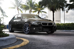 BMW F30 on Velgen Wheels VMB5 Matte Gunmetal (VelgenWheels) Tags: auto black cars car cali sedan germany yahoo google asia low wheels automotive f30 bmw custom rims swag lowered bing concave bummer swedan velgenwheels vmb5