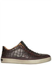 JIMMY CHOO  CROC EMBOSSED LEATHER SNEAKERS Fashion Fall Winter 2013-14 (xecereterys) Tags: winter men fall leather shoes jimmy sneakers choo croc embossed 2013 jimmychoocrocembossedleathersneakersfallwinter2013menshoessneakers