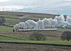 45699 Shap 09-11-13 (prof@worthvalley) Tags: uk railroad all jubilee transport railway steam locomotive types shap galatea 45699