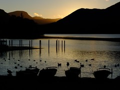 The End...... week 45 ~ 52/13 (wivvy is getting there.) Tags: mountains water reflections boats evening silhouettes ducks hills derwentwater ripples keswick thelakedistrict shimmers xs1 giveusyourbestshot 522013week45