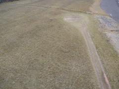 Field and tracks (Invinci_bull) Tags: breakers kap portage portagelake lakesuperior kiteaerialphotography keweenaw keweenawpeninsula houghtonmichigan levitationdelta