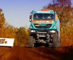 Racy Stacey / De Rooy / Iveco,  RTL GP Dakar Preproloog 2013 (Vriendelijkheid kost geen geld) Tags: truck nederland dakar gp valkenswaard vrachtwagen autosport noordbrabant rtl lkw 2013 preproloog november2013