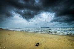 Monsoon (NurAzam) Tags: seascape beach nature nikon monsoon d5100 tamron1024f3545