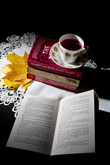 Autumnal reading (dkammy) Tags: autumn cup studio advertising reading tea books