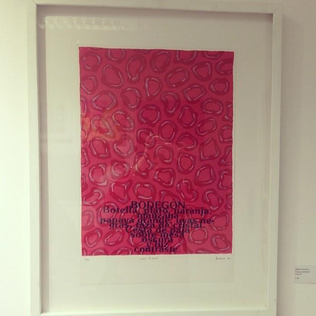 """""""Poems Zurbarán"""" de Miguel Lescano • Bazarte #bazarte #arteenlima #artinlima #arte #art #artist #artista #pintura #painting"""