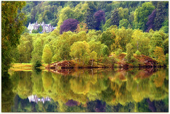 Early Autumn (eric robb niven) Tags: autumn trees walking landscape scotland dundee perthshire loch pitlochry birchtrees lochtummel ericrobbniven pentaxk50