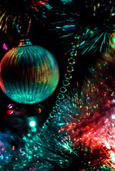 . simply - Christmas (fernotte) Tags: christmas winter colors 50mm colorful december pentax bokeh christmastree christmaslights chain ornaments shining ligths youngphotographers bokehlicious smcm50mmf2 pentaxk10d pentaxlife justpentax bokehoftheday pentaxart