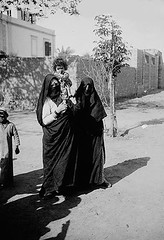 02_Egypt - Egyptian Women and Girl 1920 (usbpanasonic) Tags: women muslim islam egypt hijab culture nile cairo nil niqab egypte islamic  caire moslem egyptians egyptiens