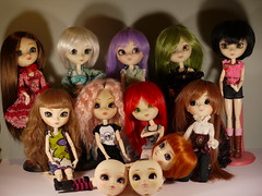 Pullip: autres (reieve) Tags: monster ball foot high doll pin ballon pins du disney full collection bjd pullip monde mh coupe custo poupe jointed repaint repeinte