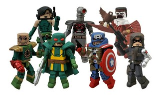 Marvel Minimates Series 54【美國隊長】Captain America