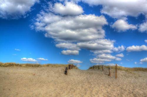 Hvidbjerg Strand sky art