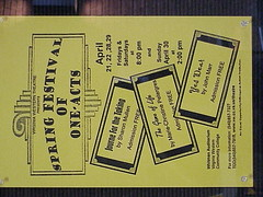 Poster (Virginia Western Theater) Tags: virginiawesterncommunitycollege vwcc journe