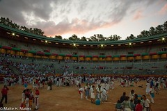 "San Fermín Plaza Toros Bull Ring 22 <a style=""margin-left:10px; font-size:0.8em;"" href=""http://www.flickr.com/photos/116167095@N07/12269651145/"" target=""_blank"">@flickr</a>"