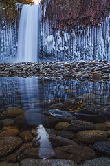 Abiqua Ice (yui fan) Tags: winter cold ice falls freeze abiqua 500px ifttt