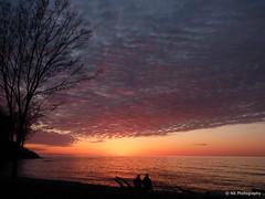 Sunset : Lake Ontario, Webster, NY (nilkpic1) Tags: sunset ny lakeontario webster nikond7000 nileshkhadsephotography {vision}:{outdoor}=0986 {vision}:{clouds}=0924 {vision}:{sky}=0988 {vision}:{car}=0779 {vision}:{sunset}=0819