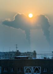 Camel (Ivan Bessedin) Tags: poverty ecology fog smog smoke hell apocalypse camel depression crisis kz almaty