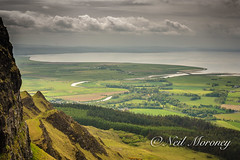 Lough Foyle and the Mouth of the River Roe from Binevenagh. (MNM Photography 2014) Tags: irish beauty mouth lough natural plateau peak special valley area interest roe outstanding scientific antrim aonb foyle assi binn benevenagh binevenagh fhoibhne foibhnes