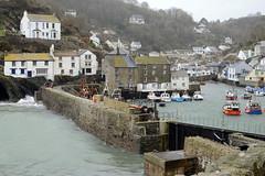 Polperro, Cornwall - 23/2/14 (ashthemainman) Tags: fishing cornwall harbour storms polperro