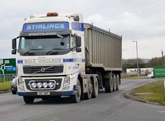 E6 SBH (Cammies Transport Photography) Tags: truck ian volvo edinburgh stirling lorry fh newbridge a8 e6sbh