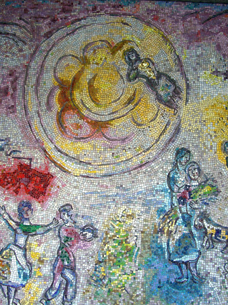 The world 39 s best photos of chagall and fourseasons for Chagall mural chicago