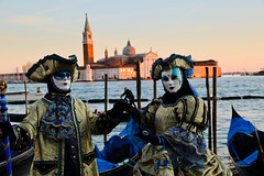 Masked Couple @ Venice Carnivale 2016 | Italy