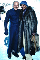 Found Photo - St. Moritz Skiers (Mark 2400) Tags: st moritz ski skiers fashion 1982 found photo