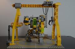 GunR-X - Full Shot (Wip) (Wafna-204) Tags: lego legophotography moc wip mech mecha hardsuit robot afol