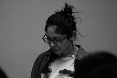 So Quirky yet So Pretty (Brother Christopher) Tags: class youth lessons teach saturday bx thebronx lehmancollege trio trioworks special portrait blackandwhite kids academy culture fun explore explored brotherchris nyc students indoor indoors
