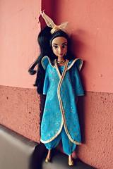 princess jasmine in make believe casablanca (girl enchanted) Tags: ds disney disneystore aladdin princessjasminedoll